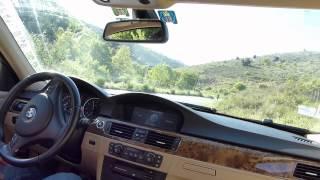 Balade en BMW 330i E90 avec filtre sport et boite à air ouverte