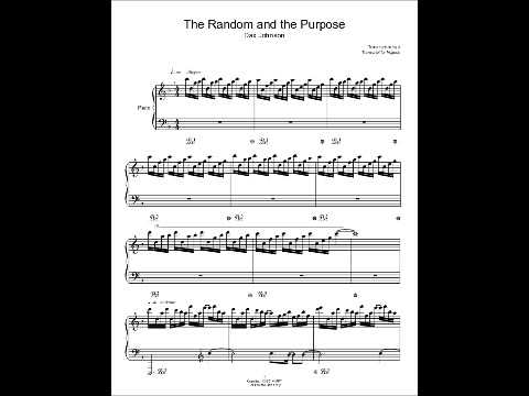 The Random and the Purpose by Dax Johnson Piano Sheet