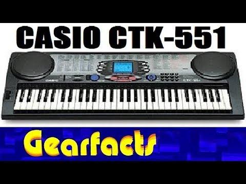 CASIO CTK-551 MIDI TREIBER HERUNTERLADEN
