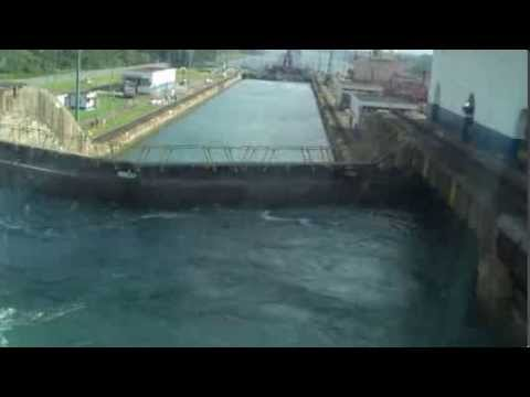 NCL Pearl and Sun Transit Panama Canal April 25 2013