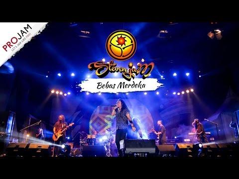 BEBAS MERDEKA - STEVEN JAM [Konser PROJAM Music di Karawang 11 Maret 2017]