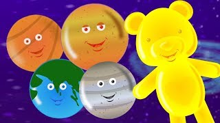 Gambar cover Planet lagu | Lagu sistem tata surya | pendidikan lagu | Planets Song For Kids | Learn Planets Names