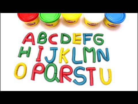 LEARN ABCDEFGHIJK..WIH PLAY DOH FOR TODDLER , KIDS