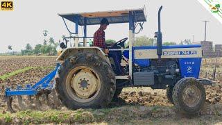मेरे स्वराज ट्रैक्टर नौ टाइन कृषक के साथ काम शुरू कर दिया | करने के लिए गांव चलो