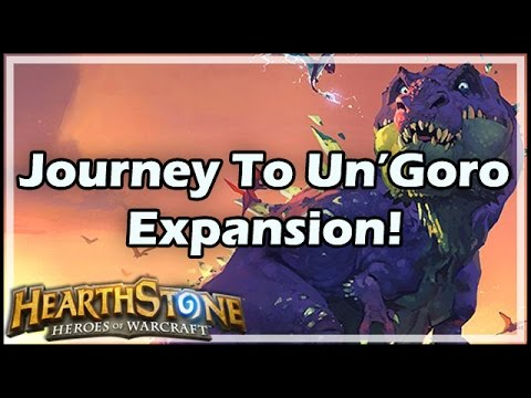 [Hearthstone] Journey to Un'Goro Expansion!