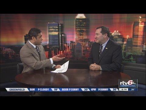 Sen. Joe Donnelly talks gun control in Indiana