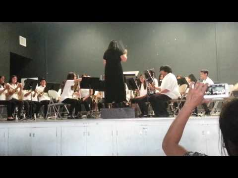 Advance Band at Lee Mathson Middle School