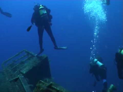 Diving into Interior spaces and inside rooms of the Zenobia wreck, with Viking Divers Larnaca Cyprus