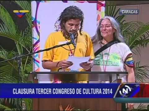 III Congreso Nacional de Cultura: Leen conclusiones y propuestas
