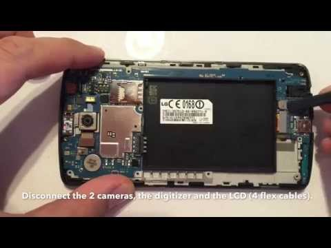 LG G3 Display wechseln, tausche, reparieren / LCD replacement, repair, changing