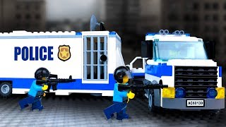 LEGO Police Chase | Vehicles & Experimental Truck | STOP MOTION Animation