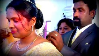 a.r.rahman music blended Christian Marriage video  RENJU WEDS SIMI