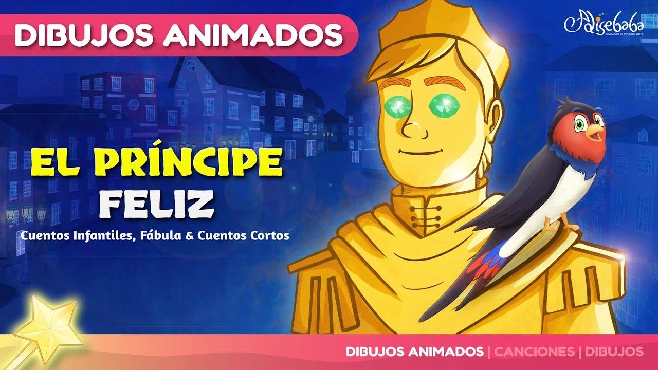 El Príncipe Feliz animado en Español | Cuentos infantiles para dormir | Dibujos animados para niños