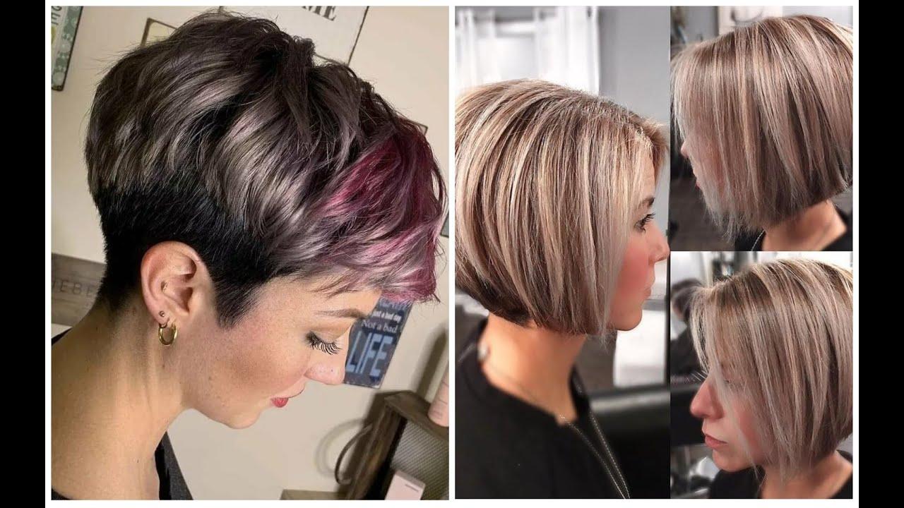 Modnye Korotkie Strizhki 2020 Dlya Zhenskoj Privlekatelnosti Trendy Short Haircuts 2020 Youtube