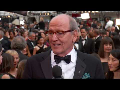 Richard Jenkins on the Oscars 2018 All Access Red Carpet