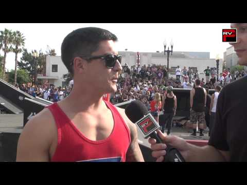 The Blading Cup 2012 - Brian Aragon interview