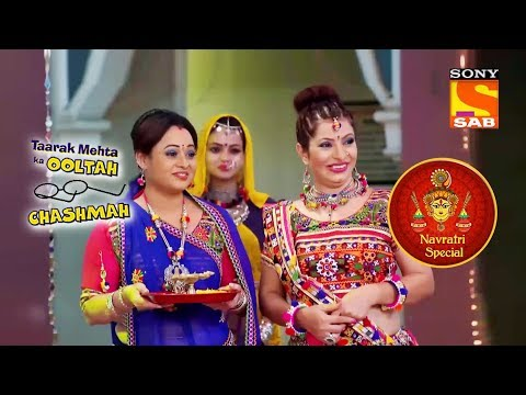 Jethalal Goes Missing On Navratri | Taarak Mehta Ka Ooltah Chashmah | Navratri Special
