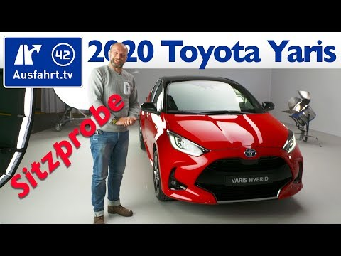 2020 Toyota Yaris - Weltpremiere, Sitzprobe, Premiere, kein Test