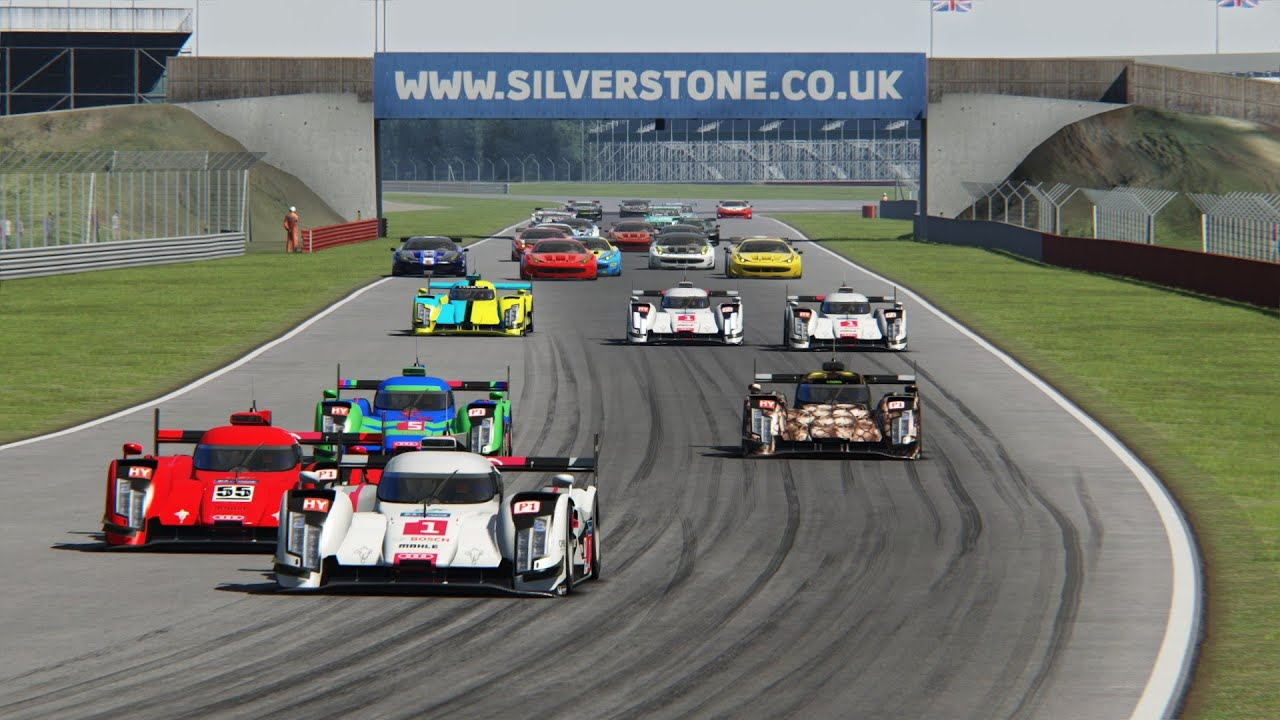 1st lap action WEC 2016 @ Silverstone Assetto Corsa - YouTube