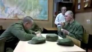 Армейский прикол с ложкой! Смешное видео 2015