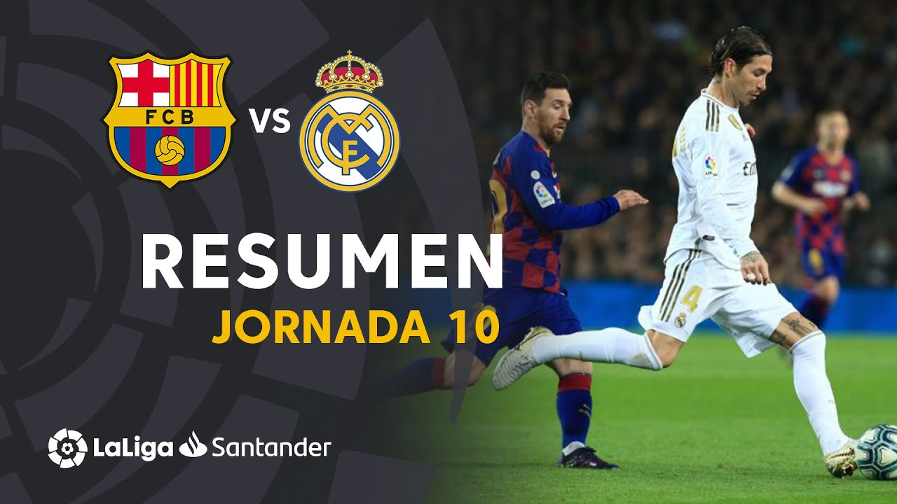 Resumen De Fc Barcelona Vs Real Madrid 0 0 Youtube