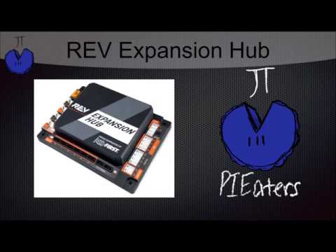 FTC Robotics Help - REV Expansion Hub - Connecting Motors, Encoders, and Sensors