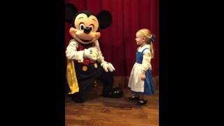 Mickey Mouse sings Happy Birthday