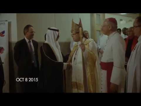 Sheikh Nahyan speaks at St. Andrew's Church | Abu Dhabi | 2015