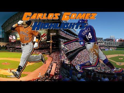 Former Brewers - Carlos Gomez 2016 Highlights