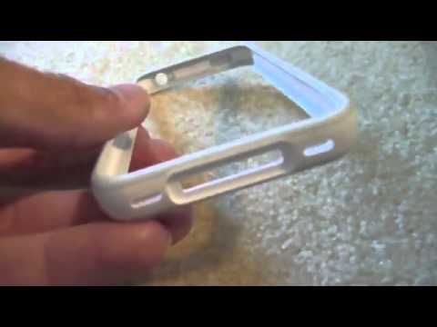 White Apple iPhone 4 Bumper AT&T and Verizon