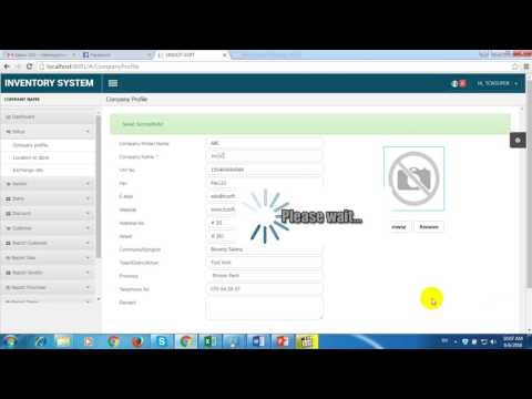 TCS How To Setup Company Profile Location And Exchange