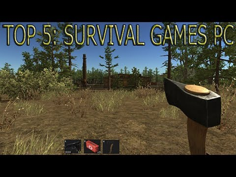 Top 5 survival games pc 2013 youtube for Survival crafting games pc