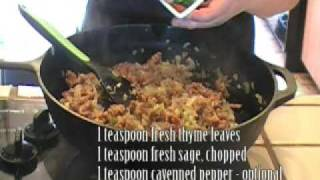 How To Make Sausage & Apple Stuffing