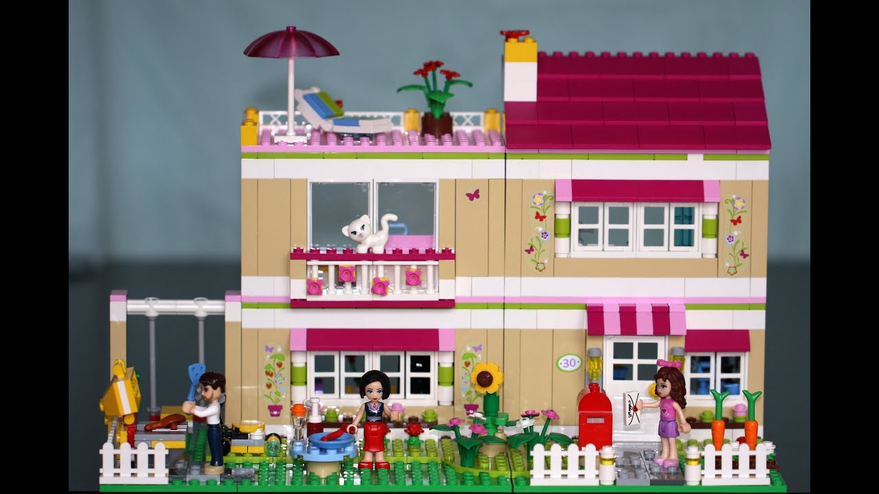 LEGO FRIENDS STEPHANIE'S HOUSE 41314 ЛЕГО ФРЕНДС НАБОР ДОМ СТЕФАНИ .