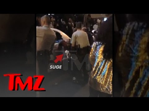 Suge Knight -- Moments After Bullets Tore Through His Body (VIDEO)   TMZ
