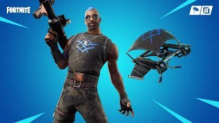 "NEW UNUSUAL SKIN ""ANARCHIC AGENT"" AND DELTA-WING ""CHAOS""! Fortnite"