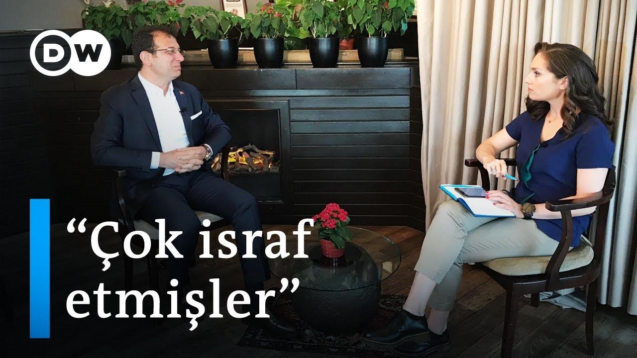 Ekrem İmamoğlu DW Türkçe'nin sorularını yanıtladı