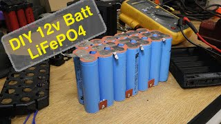 DIY 12 Volt LiFePO Battery Build
