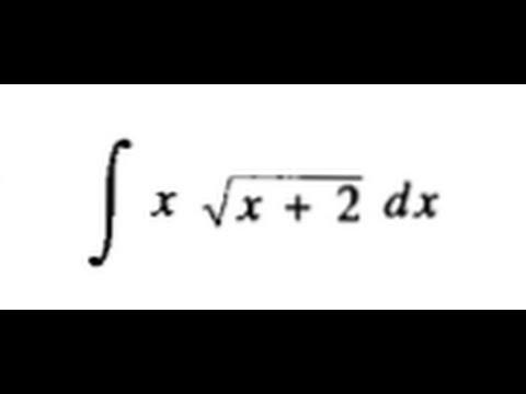 INTEGRACION POR SUSTITUCION (LEITHOLD 4.1 EJ. 11)