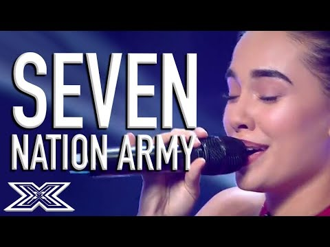 Perfect White Stripes Seven Nation Army  Blows Judges Away!  X Factor Global