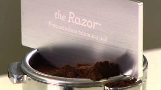 The Breville Razor- Precision Dose Trimming Tool