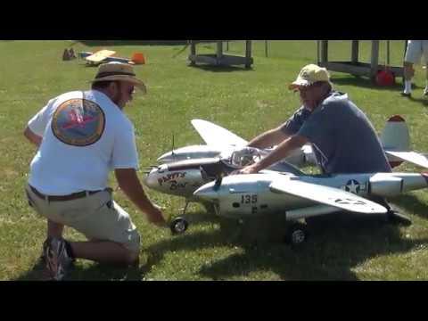 Gerrys Ziroli P-38 first flights