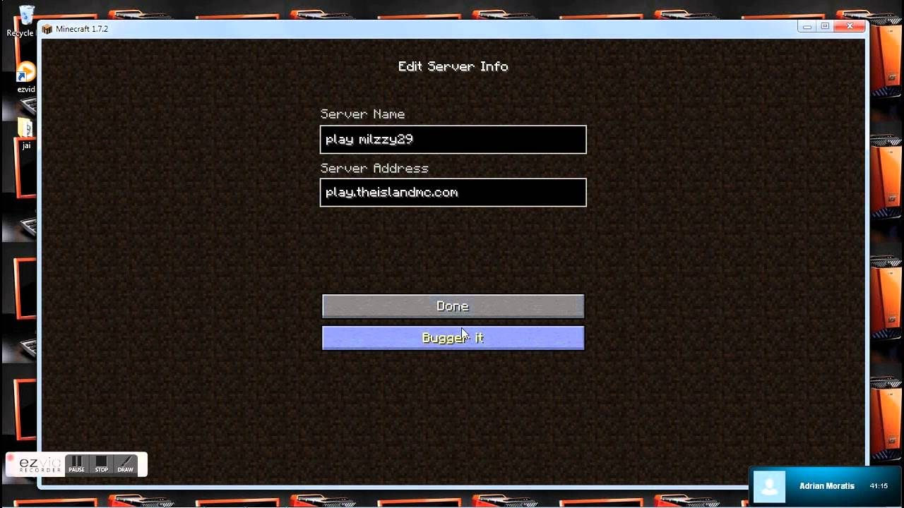 Crazy Craft    Server Name And Address