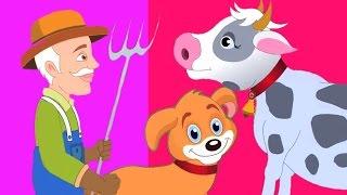 Старый Макдональд имел ферму | Детские песенки для детей | Видео для детей