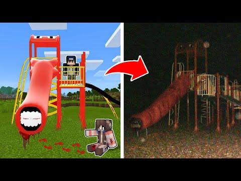 bqThanh và Ốc Triệu Hồi Thành Công CẦU TRƯỢT MA EXTRA SLIDE Có Đôi Mắt Bí Ẩn Trong Minecraft