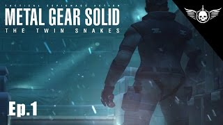 Metal Gear Solid Remake - The Twin Snakes HD Graphics (Ep.1)