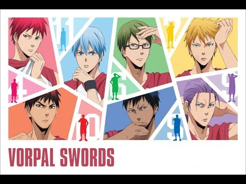We Are VORPAL SWORDS!! (Romaji Lyrics) - Kuroko No Basuke LAST GAME