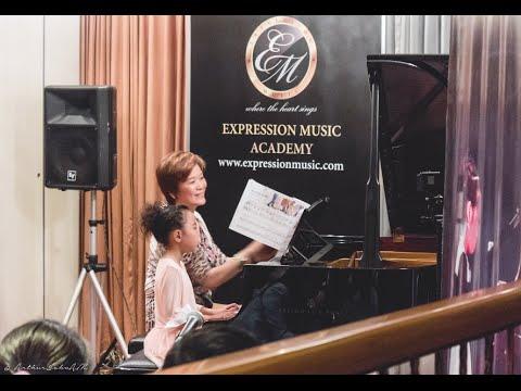 7 p.m. Recital Session - Expression Music Academy Brunei