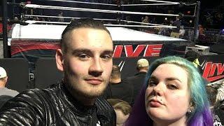 WWE Live 1/12/19 ROW 3 (Johnson City, TN) | Brandon Hodge Vlog #80