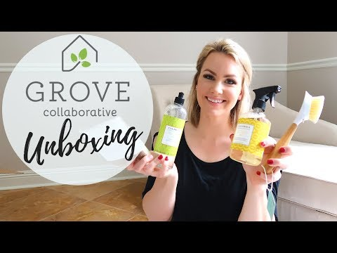 GROVE COLLABORATIVE HAUL 2019 // MY FIRST ORDER AND UNBOXING // Amanda Sandefur